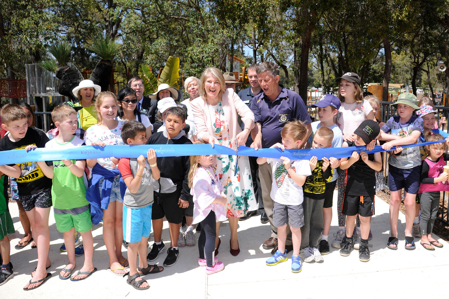 The Adventure Park officially opens